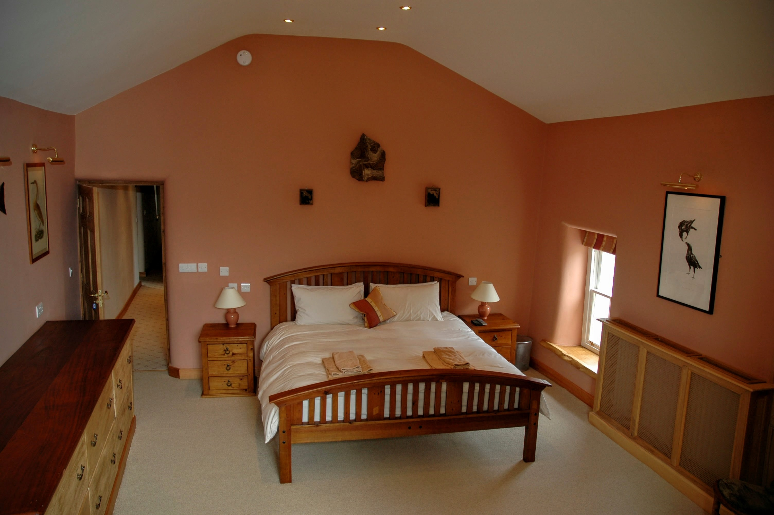 Master bedroom - Yew Tree Farm Reagill